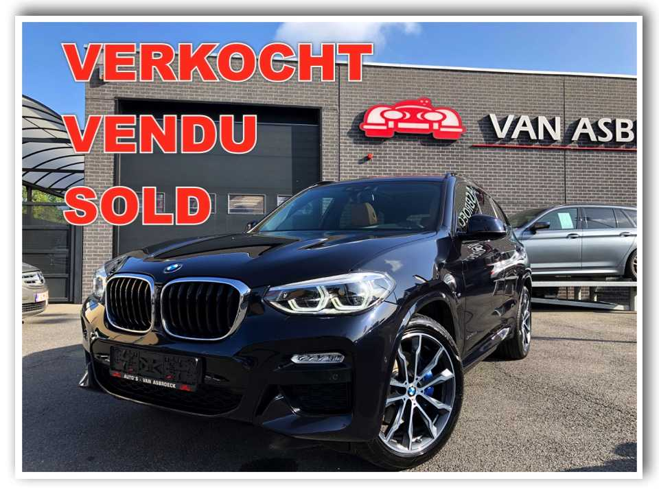 Autos Van Asbroeck BMW X3 2.0 dA xDrive20 Led-Pano Dak-Head Up Displ-20'allu